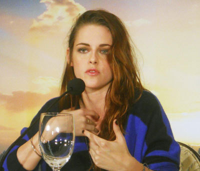 Kristen at the interview
