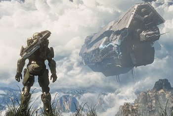Halo 4 screenshot infinity