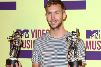 Calvin Harris at the MTV Music Awards