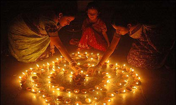 Diwali is known as the festival of lights