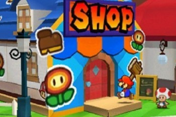Paper Mario Sticker Star Screenshot store shop