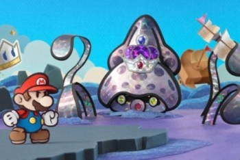 Paper Mario Sticker Star Screenshot Royal Sticker