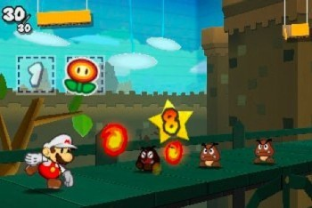 Paper Mario Sticker Star Screenshot Battle