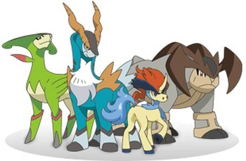 Keldeo and other Legendary Pokémon