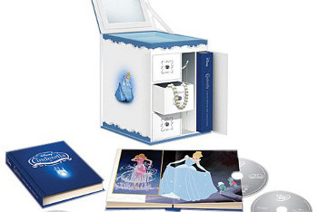 Cinderella Trilogy Jewelry Box 6-Disc DVD/Blu-Ray Collection