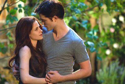 Bella and Edward..finally equals