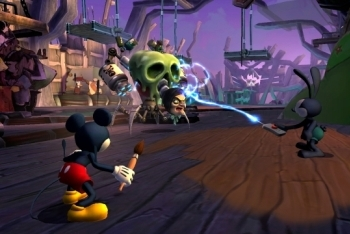 epic mickey 2 screenshot battle