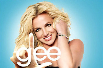 Britney's songs were the theme for Glee's