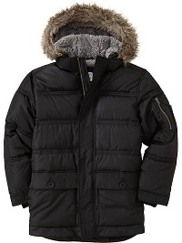 Old Navy Quilted Sherpa