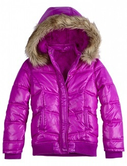 Girl's Puffer Coat from Justice