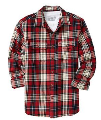Old Navy Flannel Shirt, $20