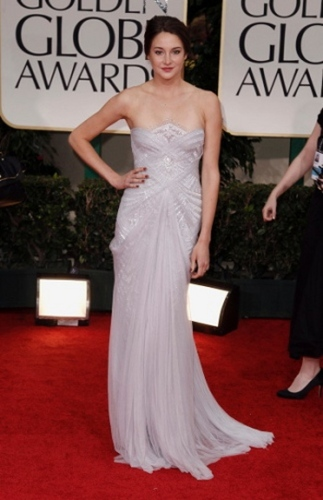 Wonderful in White: We love Shailene Woodley's classic gown