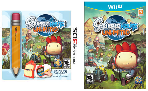 Scribblenauts Unlimited for Nintendo 3DS and Wii U