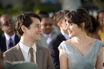 Zooey and her co-star from 500 Days of Summer, Joseph Gordon-Levitt