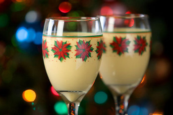 Eggnog originated in Europe