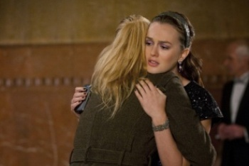 Serena Saying Goodbye to Blair