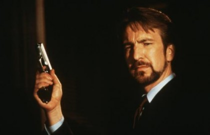 All Hans Gruber wants for Christmas is money!