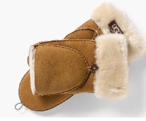 Ugg shearling flip mittens