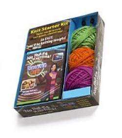Teens Learn To Knit - Starter Kit Gift Box, $19.95