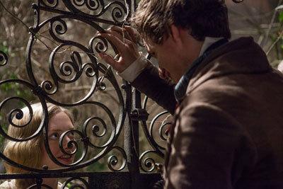 Cosette (Amanda) and Marius (Eddie)