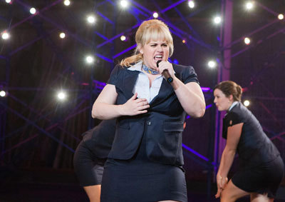 Fat Amy (Rebel Wilson) really sells it!