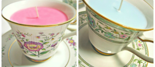 DIY Teacup Candle