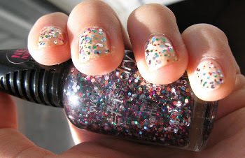 bring the party to you with chunky glitter polish