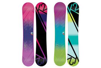 Gals Snowboard