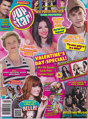 All pop stars, every issue!