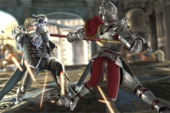 Soul Calibur V fighting game armor destruction
