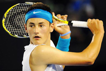 Bernard Tomic rising Australian tennis star