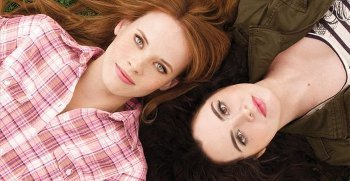 Vanessa and Switched at Birth co-star Katie Leclerc