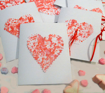 A handmade card shows you care, even if you're on a budget