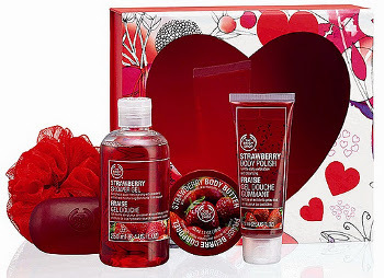 We love The Body Shop's strawberry soaps and balm