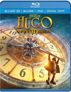 Hugo Blu-ray   DVD
