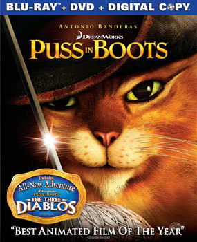 Puss In Boots on Blu-ray   DVD