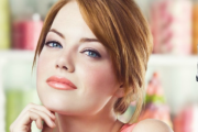 Emma Stone, courtesy of Revlon