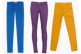 Micro colored jeans micro
