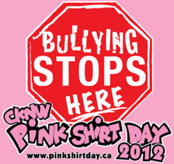 Pink Shirt Day 2012