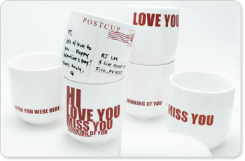 A sentimental mug can warm up his hands and his heart!