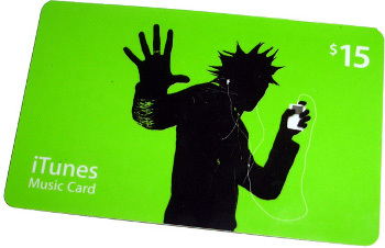 If you don't know his taste in tunes, grab a gift card!