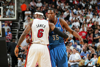Kevin Durant Lebron James Showdown