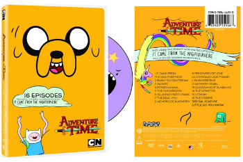 Adventure Time on DVD