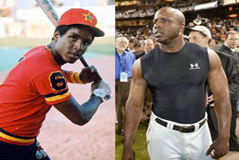 Barry Bonds before and after steroids