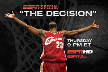 The Decision ESPN Special on Lebron James