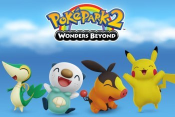 PokePark 2: Wonders Beyond title screen