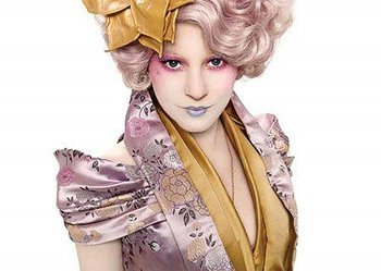 Hunger Games Effie: I love that the story tells kids they matter!