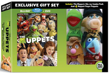 The Muppets on Blu-Ray and DVD
