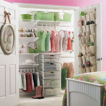 An organized closet creates effortless style