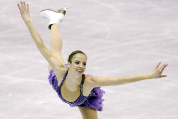 Carolina Kostner Figure Skater from Italy